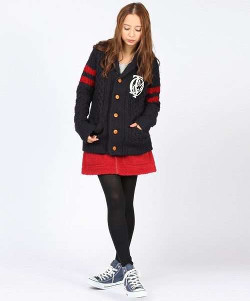 TOMMY Hers(トミー ハーズ) | CAMBRIDGE KNIT JKT Hers(カーディガン) - ZOZOTOWN