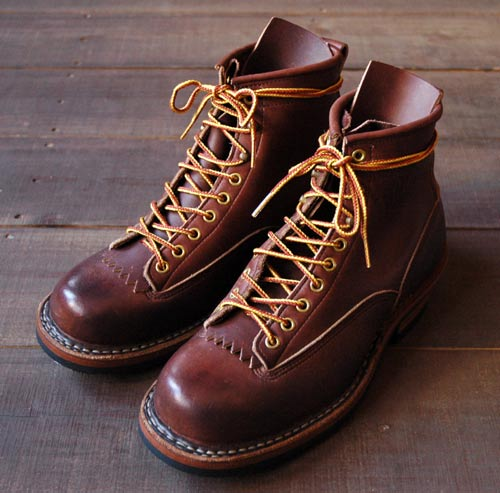 "STURDY BLOG | WHITE'S BOOTS ""SMOKEJUMPER LTT BROWN CUSTOM"""