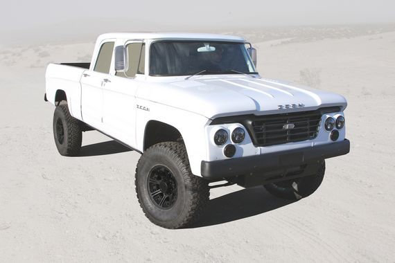 Icon D200 Brings Old And New Dodge Trucks Together