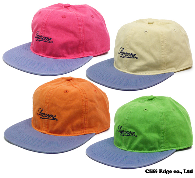 【楽天市場】SUPREME Washed Twill Fitted Cap [キャップ] 4カラー 265-000256-055-【新品】:Cliff Edge