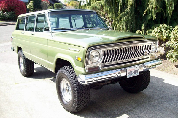 For Sale: 1970 Jeep Wagoneer - GRAB A WRENCH