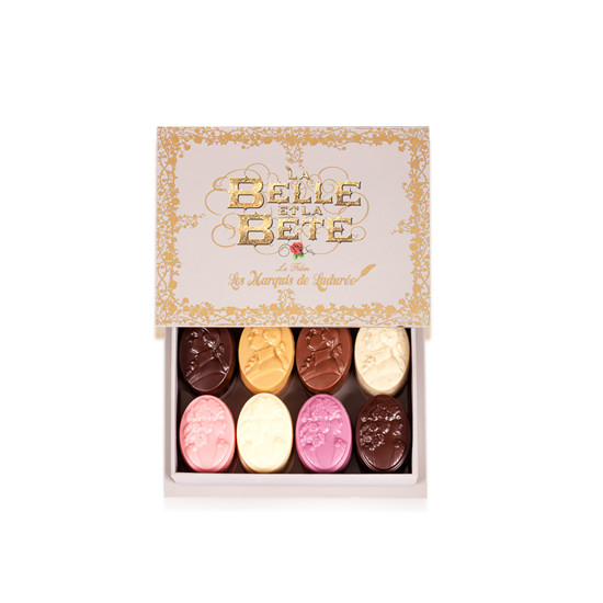 """Les Marquis de Ladurée : GIFT BOX CAMEES """" THE BEAUTY AND THE BEAST"""""""