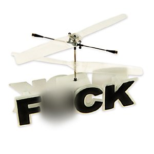 Remote Controlled Flying F*ck:Amazon:Sports & Outdoors