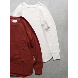 """bukht """"Big Waffle""""(2colors) 商品詳細 THE SUPERIOR LABOR,A VONTADE,CURLY,NICHE,bukht通販サイト 広島県呉市のセレクトショップ"""