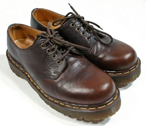 Vintage 80s 90s Dr Martens Dark Brown Shoes Grunge Punk... review at Kaboodle