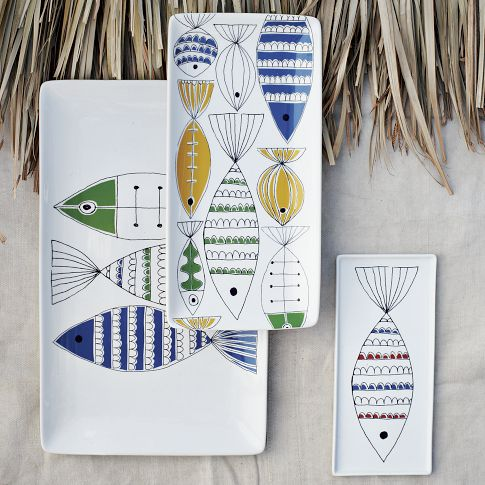Mod Fish Platters | west elm