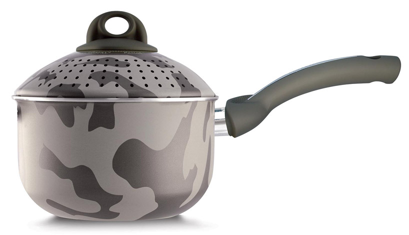 stone, glass + camo cookware: which pot handles the heat?