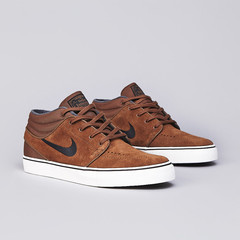 Flatspot - Nike SB Stefan Janoski Mid Military Brown / Black