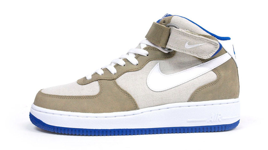 AIR FORCE I MID 07 「LIMITED EDITION for ICONS」 BGE/WHT/BLU ナイキ NIKE | ミタスニーカーズ|ナイキ・ニューバランス スニーカー 通販