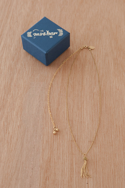 GOLD TAIL NECKLACE - mother online shop