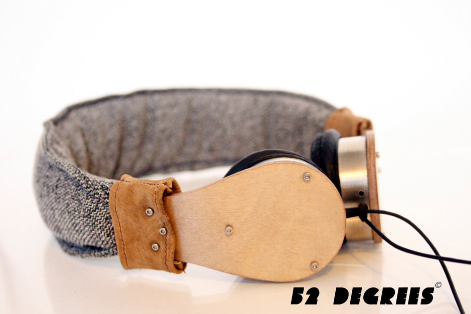 Handmade Plywood Headphones by nicomonterosso on Etsy