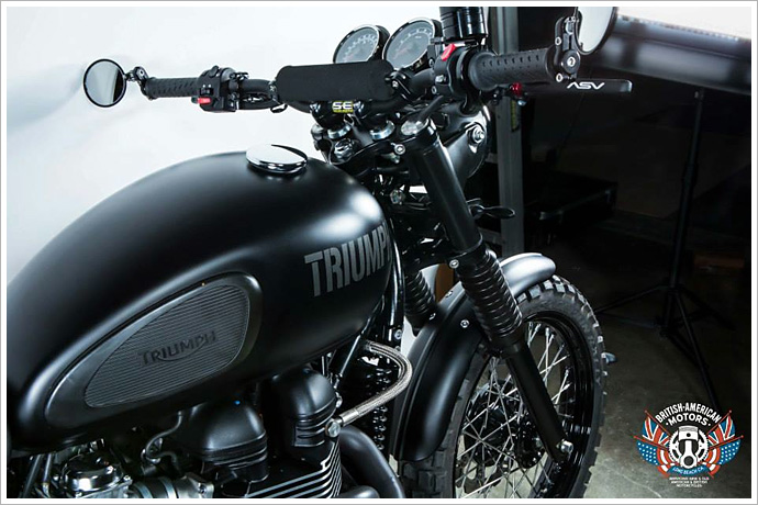 2012 Triumph Scrambler - British American Motors - Pipeburn - Purveyors of Classic Motorcycles, Cafe Racers & Custom motorbikes