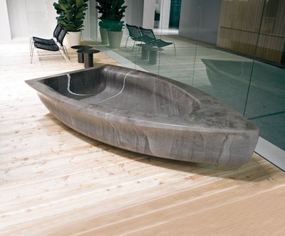 If It's Hip, It's Here: The Vascabarca-Barcavasca Tub. No Lifejackets Required.