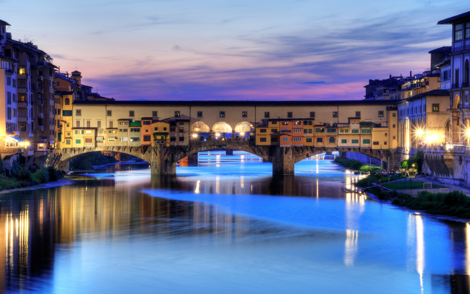 Wallpaper: Ponte Vecchio in Florence, Italy - Evan's Blog