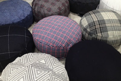 RE-DROP RE-USED【Cushion chair-Limited color】 - GOOD DESIGN SHOP - D&DEPARTMENT