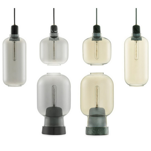 Normann Copenhagen Amp Pendant Lamp Series - HisPotion