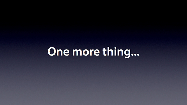 One more thing...   Flickr - Photo Sharing!