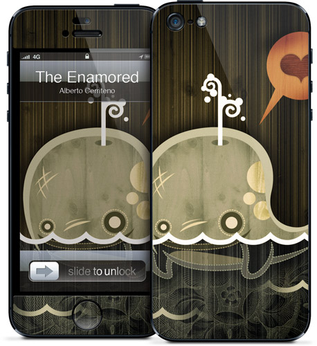 Alberto Cerriteno - The Enamored Whale - iPhone 5 | GelaSkins