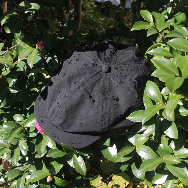 "Just Right ""Outdoor-Newsboy Cap"" Black 