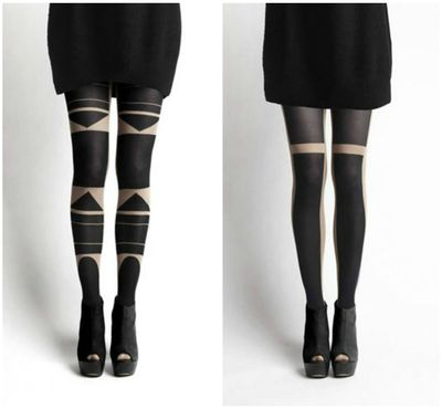 Patternity Tights - ** Happiness Is...**