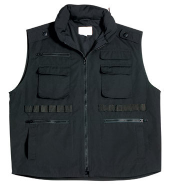 Rothco Ultra Force Black Ranger Vest 7558 | OverstockTactical.com