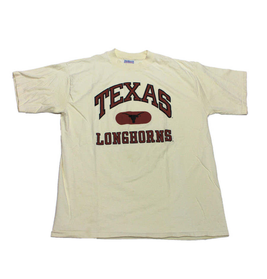 Vintage 90s Texas Longhorns Shirt Made in USA Mens Size XL | Vintage Mens Goods