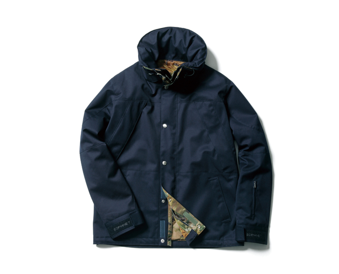 SOPHNET. | PRODUCT | 2 LAYER WOOL MOUNTAIN PARKA