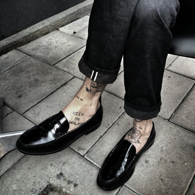 Fancy - Classic Penny Loafer by Saint Laurent