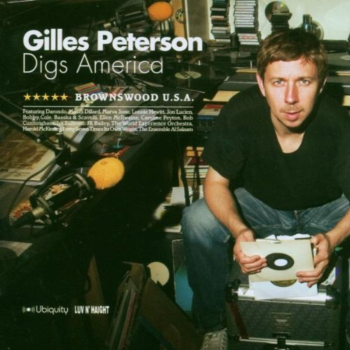 Amazon.co.jp: Gilles Peterson Digs America: Brownswood Usa: Gilles Peterson: 音楽