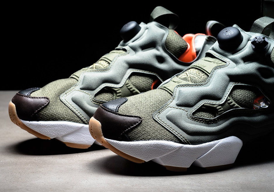 Winiche & Co. and mita sneakers Team Up on a Flight Jacket-Inspired Reebok Instapump Fury - Freshness Mag