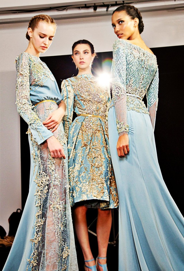 Backstage Elie Saab Haute Couture Winter 2012 | :: style me pretty ::