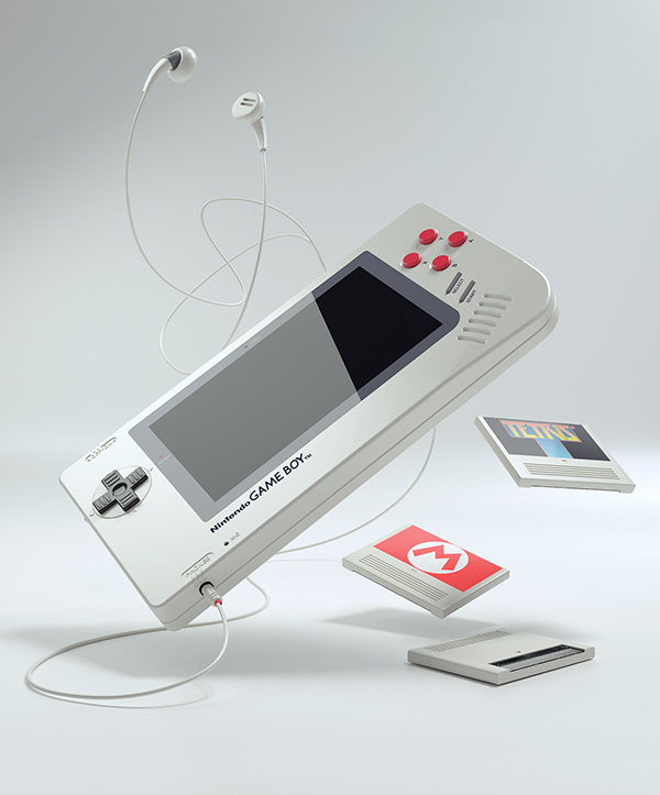 GAME BOY 1up