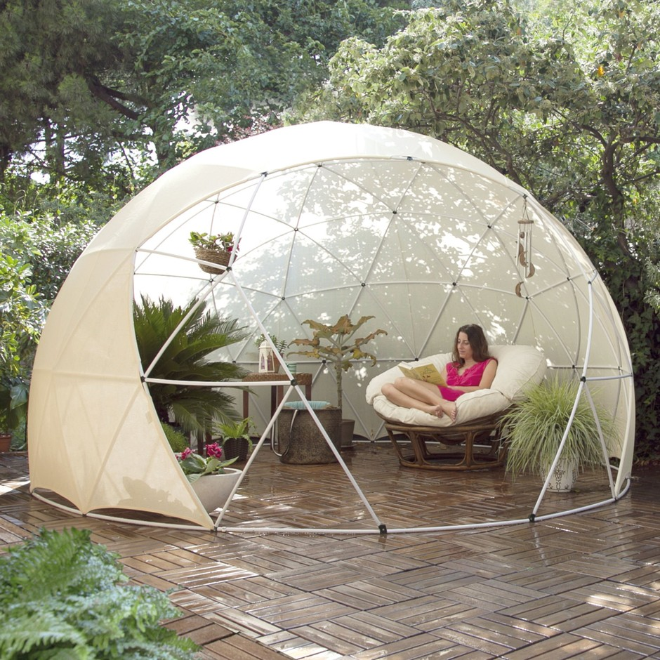 garten iglu sonnenschutz bezug f r pavillon gew chshaus garden igloo four seasons wei. Black Bedroom Furniture Sets. Home Design Ideas