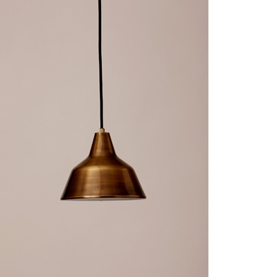 flame product | pendant | brass