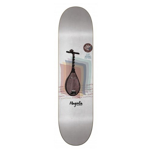 "MAGENTA - PHILHARMONY series GUEST ""Lui Araki"" (7.875 X 31.5) - Growth skateboard elements"