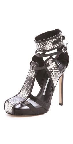 Camilla Skovgaard Panel Stiletto Sandals | SHOPBOP