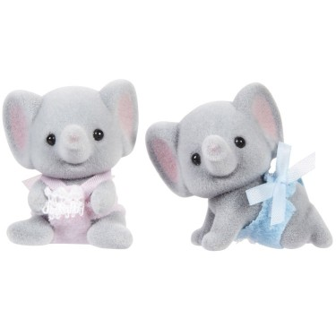 Ellwoods Elephant Twins - Calico Critters - Educational Toys Planet