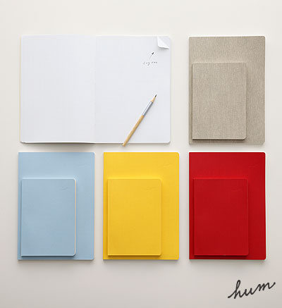 "hum products | hum 03 ""dog ear notebook"""