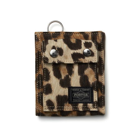 WALLET (S)|LEOPARD|HEADPORTER OFFICIAL ONLINE STORE|ヘッドポーター オンラインストア