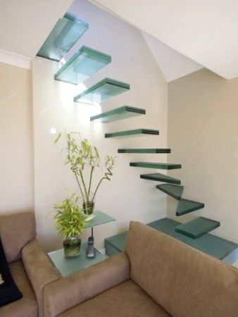 Places and Spaces / Floating Stairs