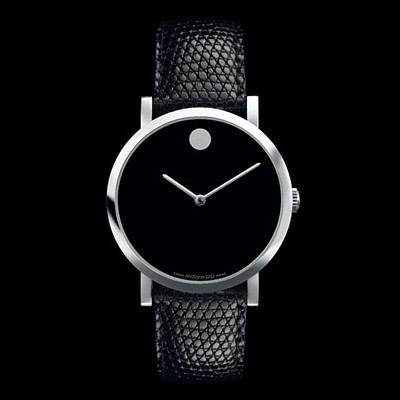 Zamri's Big Fat Blog: Movado 'Museum' Watch: The Epitome of Chic