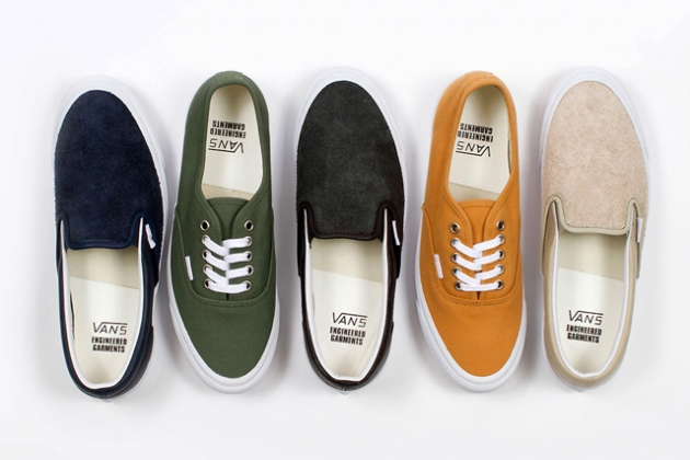 Engineered Garments x Vans Vault Fall/Winter 2013 Capsule Collection Preview - SLAMXHYPE