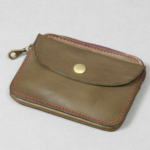 ELBAMATT ACC / TWIN PURSE(OLIVE) | evergreen works