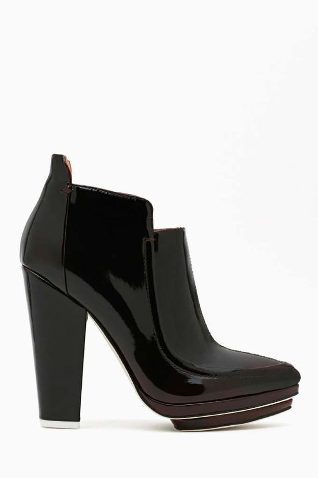 Jeffrey Campbell Helga Bootie - Wine in Shoes at Nasty Gal