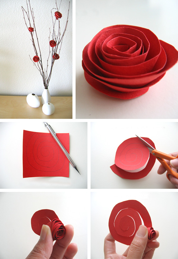 Paper flower tutorial in Crafts for decoration, gifts, presents and accessories at weddings