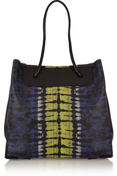 Prisma lizard-effect leather tote | Alexander Wang | THE OUTNET