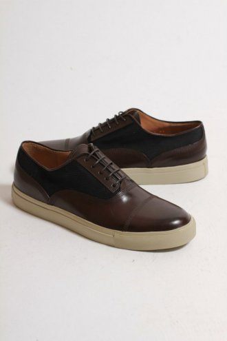 DRIES VAN NOTEN Dries Van Noten MW10/217 Sneaker QU210/Dark Brown - FOOTWEAR from Autograph UK