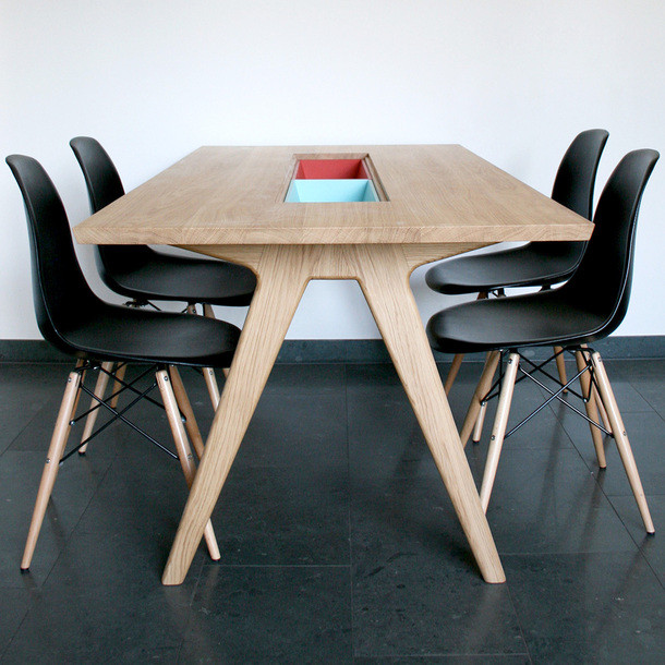 Fancy - Remix Collection Dining Table by The Hansen Family