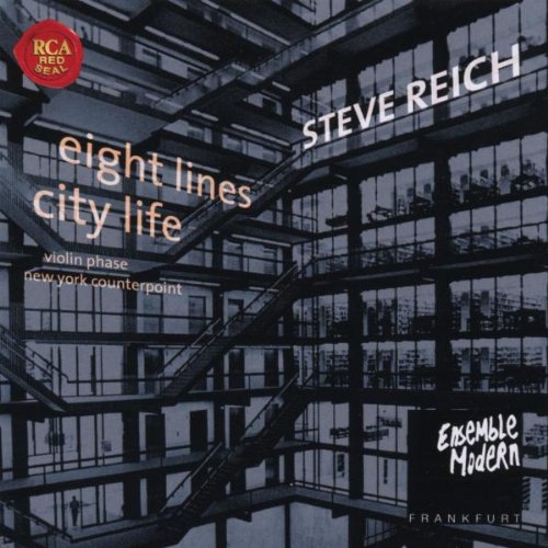 Amazon.co.jp: Eight Lines/City Life: S. Reich: 音楽