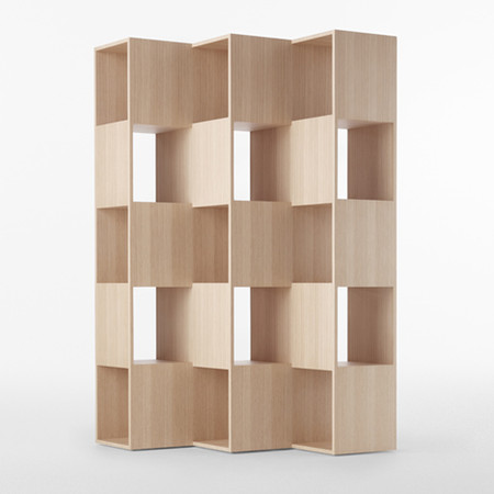 """Fold"" Bookshelf for Conde House"